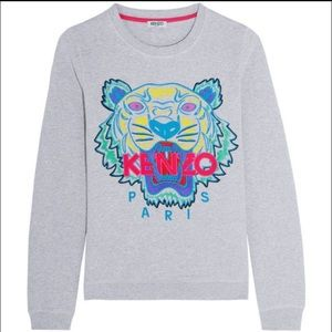 Kenzo Paris Embroidered Tiger Sweater